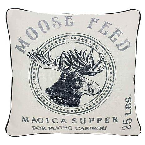 Amazon.com: Magic cena Moose Feed, francés Vintage saco ...