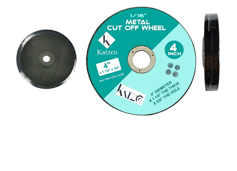 Amazon.com: Cut Off Wheels- For Cutting Metal And Steel -4 Inch To Use With Angle Grinders - 4