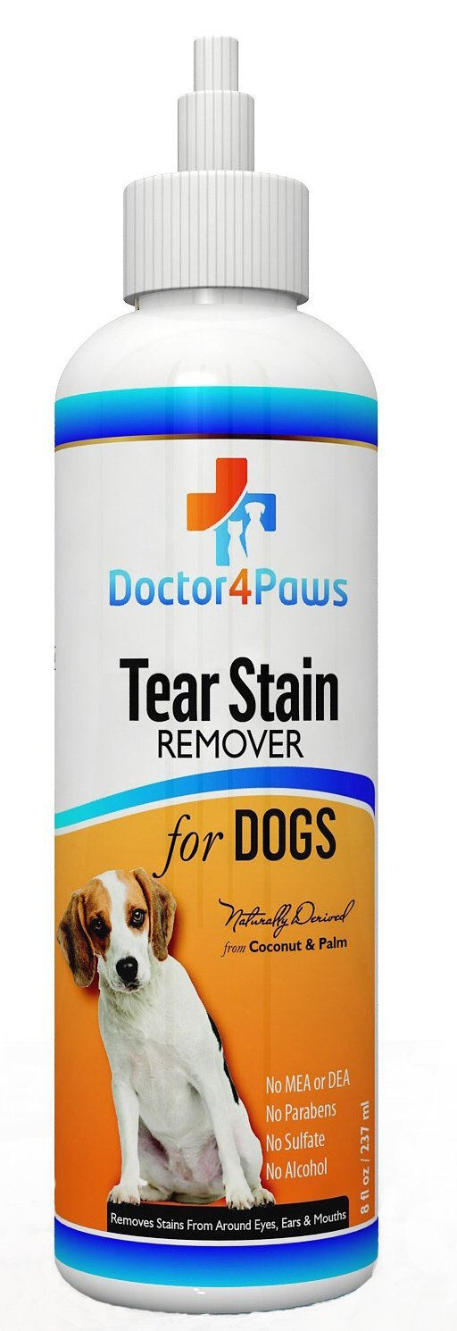Premium Eye Tear Stain Remover for Dogs, Restore Those Cute looks, Prevents Stains Around the Eyes and Mouth, Naturally Derived From Coconut and Palm