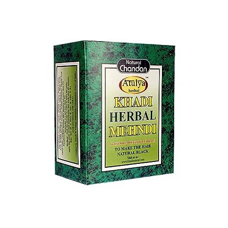 4a5374f76 Buy Khadi Sudha Ayurveda Herbal Black Mehndi, 100g Online at Low Prices in  India - Amazon.in