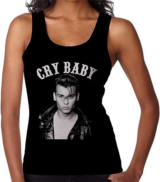 Cry Baby Johnny Depp Portrait Womens Vest