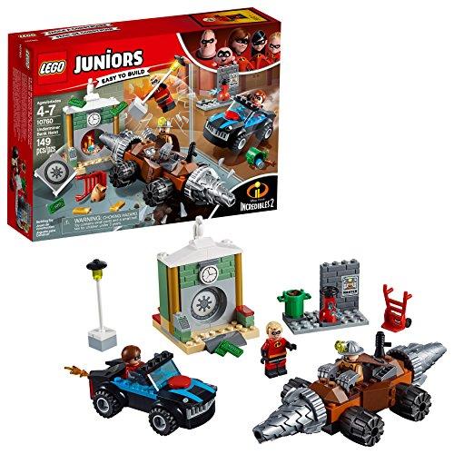 LEGO Juniors/4+ The Incredibles 2 Underminer Bank Heist 10760 Building Kit (149 Piece)