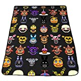 "Outdoor Choose Five Nights At Freddy S - Pil Art - Multiple Characters Blanket Size 40"" x 50"""