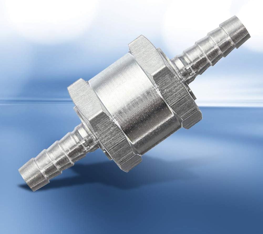 Valvola di ritegno unidirezionale per benzina in lega di alluminio marina diesel