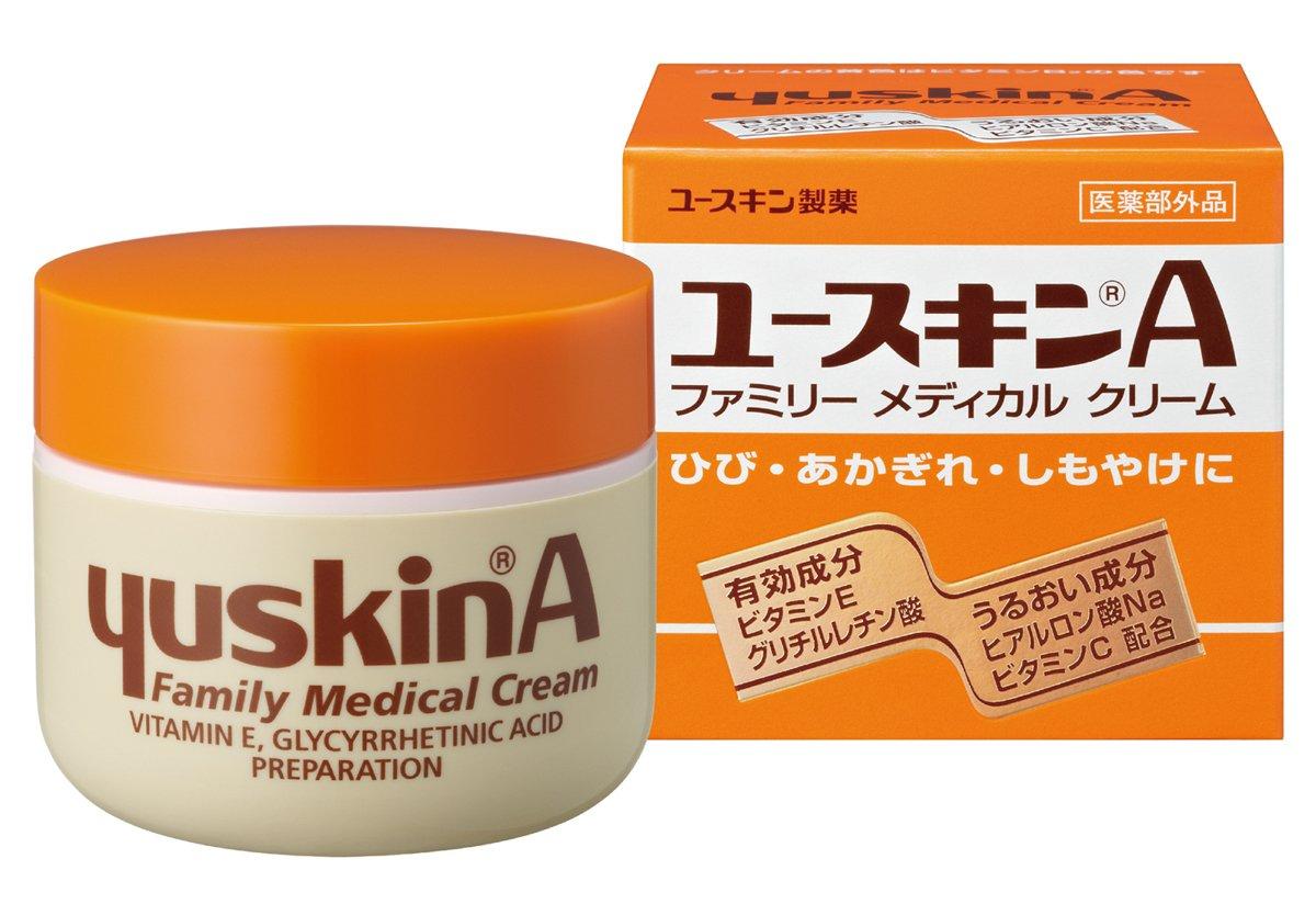 【指定医薬部外品】ユースキンA 120g (手荒れ かかと荒れ 保湿クリーム) product image