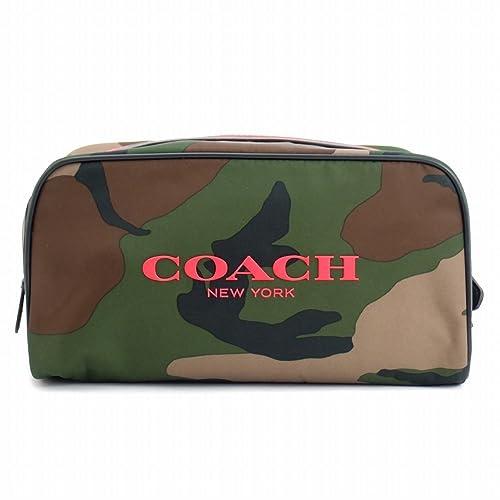 b74781a175f3 (コーチ)COACH バッグ メンズ セカンドバッグ トラベル セカンドポーチ カモフラージュ カモ 迷彩柄 ブランド