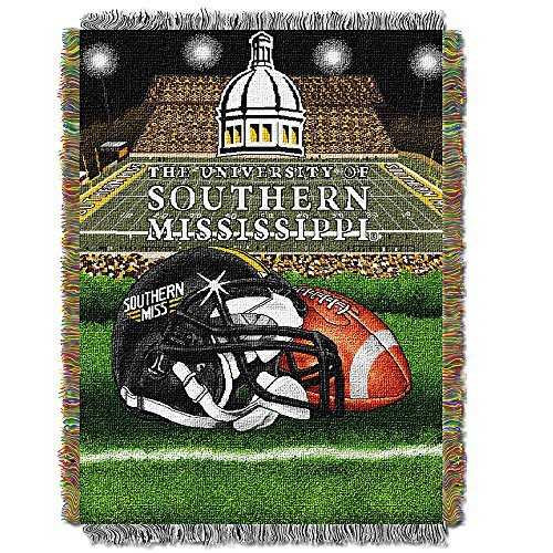 Northwest Southern Miss Woven Tapestry Blanket -