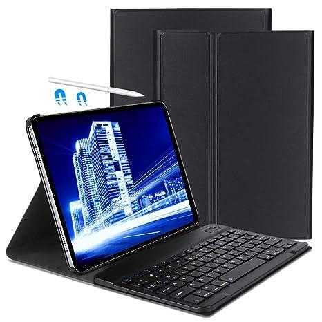 OYOSUOGG Keyboard Case for iPad Pro 11 Inch 2018 - Lightweight - Auto Sleep/Wake