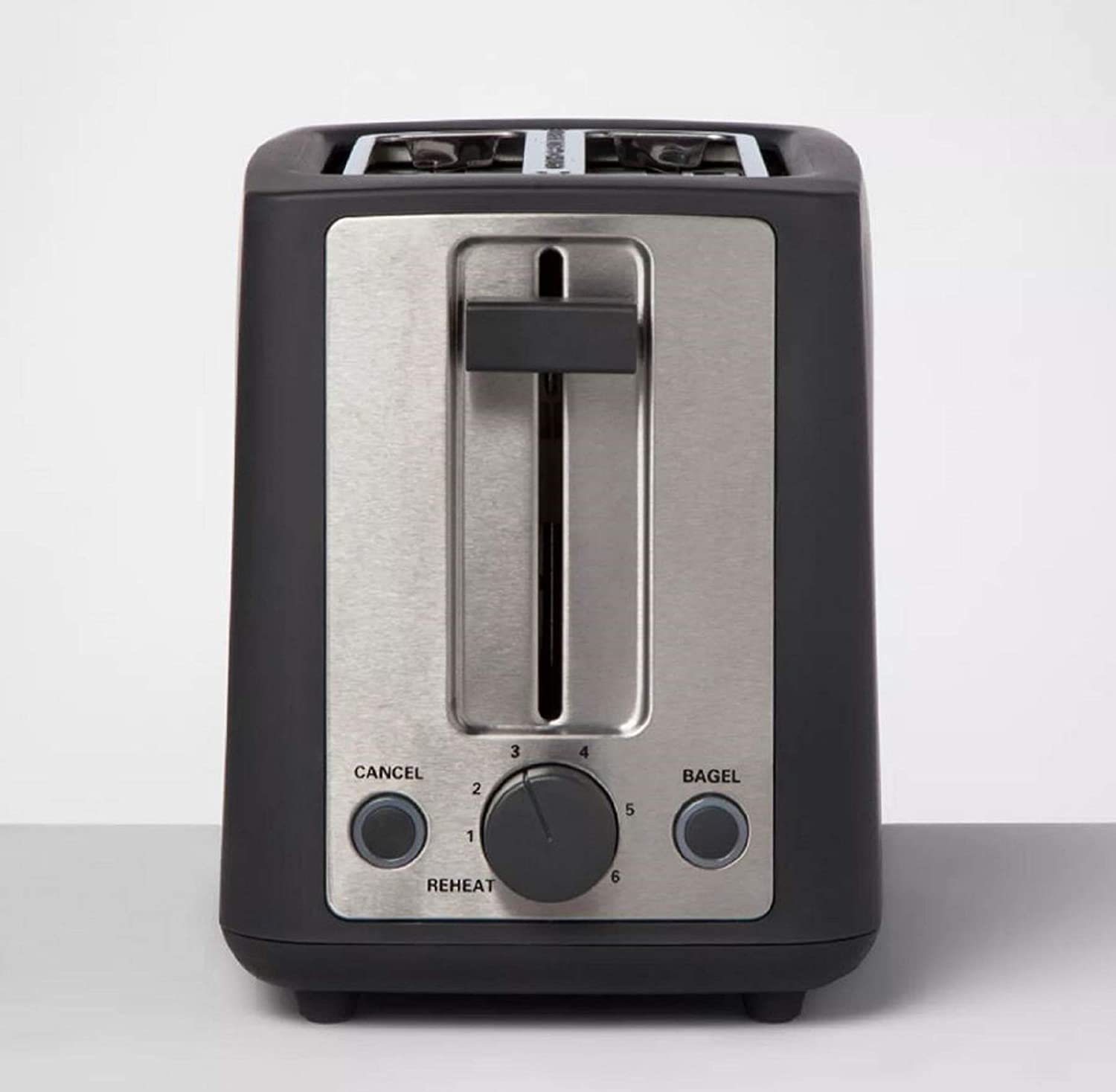 Stainless Steel 2 Slice Extra Wide Slot Toaster Compact Ideal Gift for Family & Friends