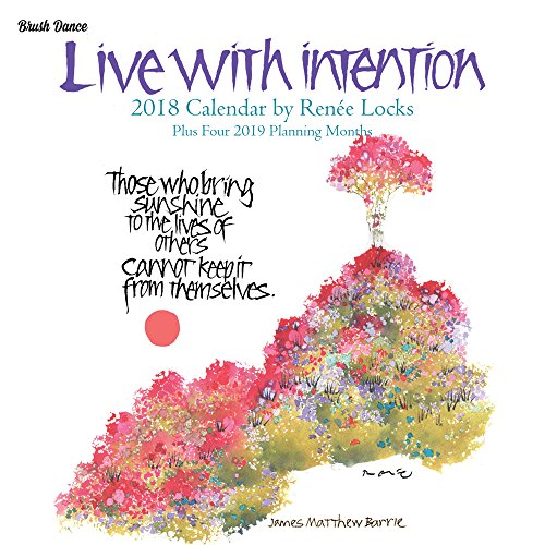 Live with Intention 2018 Mini Calendar