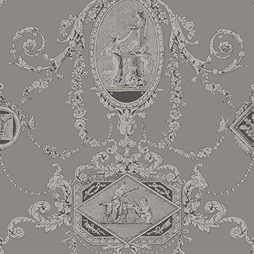 PV00201 - Regency Wall Plaques Cherubs Pewter Blendworth Wallpaper (Wallpaper Cherub)