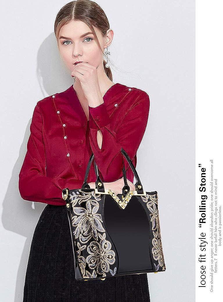 F/êtes Sac /à bandouli/ère design /él/égant pour affaires Shopping Mariage AlwaySky Sac /à bandouli/ère pour femme Sac /à bandouli/ère design /él/égant Voyage