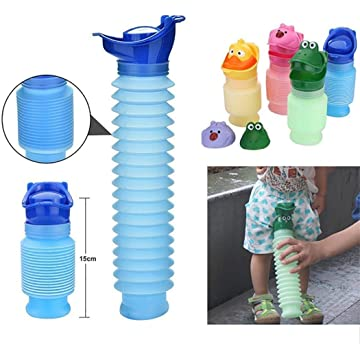LEANO Portable Baby Adult Potty Urinal Toilet Emergency Potty for Car Travel Camping Potties & Seats