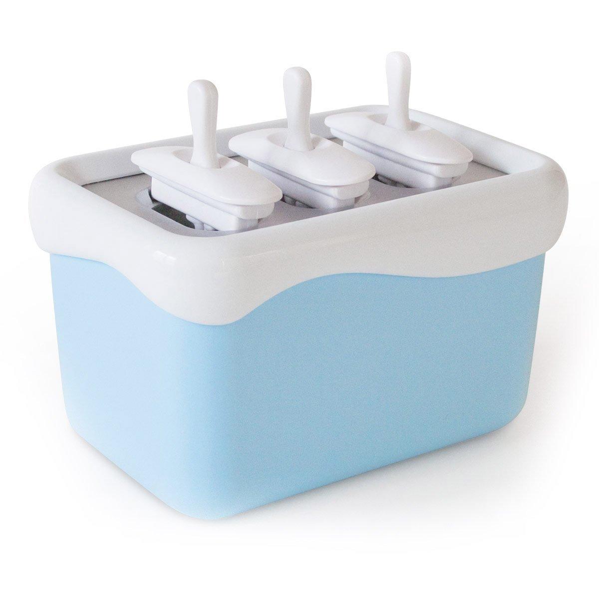Eismaschine Eismaker Stieleisformen Gefrierbehälter Popsicle Maker - blitzschnell Eis am Stiel Goods & Gadgets
