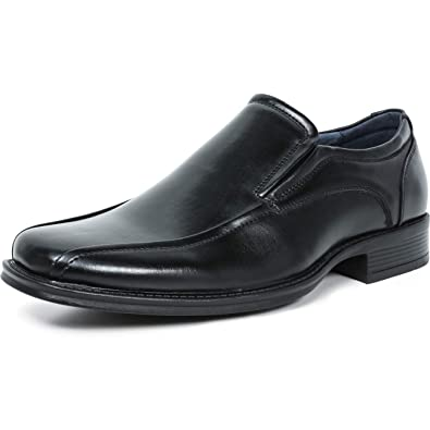a3619ebabca Amazon.com | ZRIANG Men's Dress Loafers Formal Leather Lined Slip-on ...