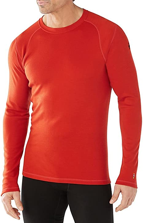 Amazon.com: Smartwool Men's Base Layer Top - Merino 250 Wool Active Crew:  Clothing
