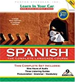 Learn in Your Car Spanish: The Complete Language Course [With Guidebook and CD Carrying Case and DVD] (Spanish Edition)