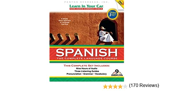 Amazon.com: Learn in Your Car Spanish: The Complete Language ...