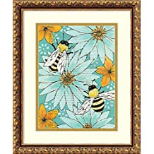 Framed Art Print 'Nectar Collector II' by Kate Birch