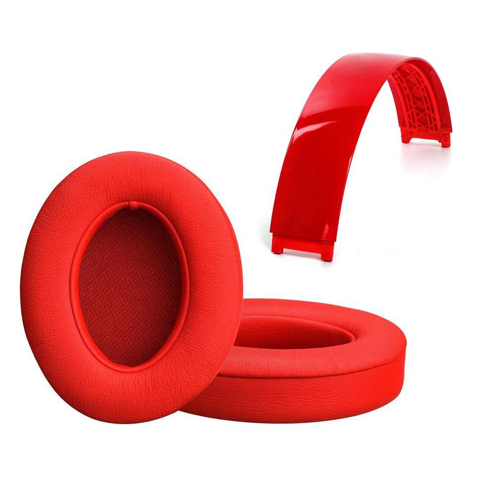 Almohadillas Banda Repuesto Para Beats Studio 2.0 Rojo