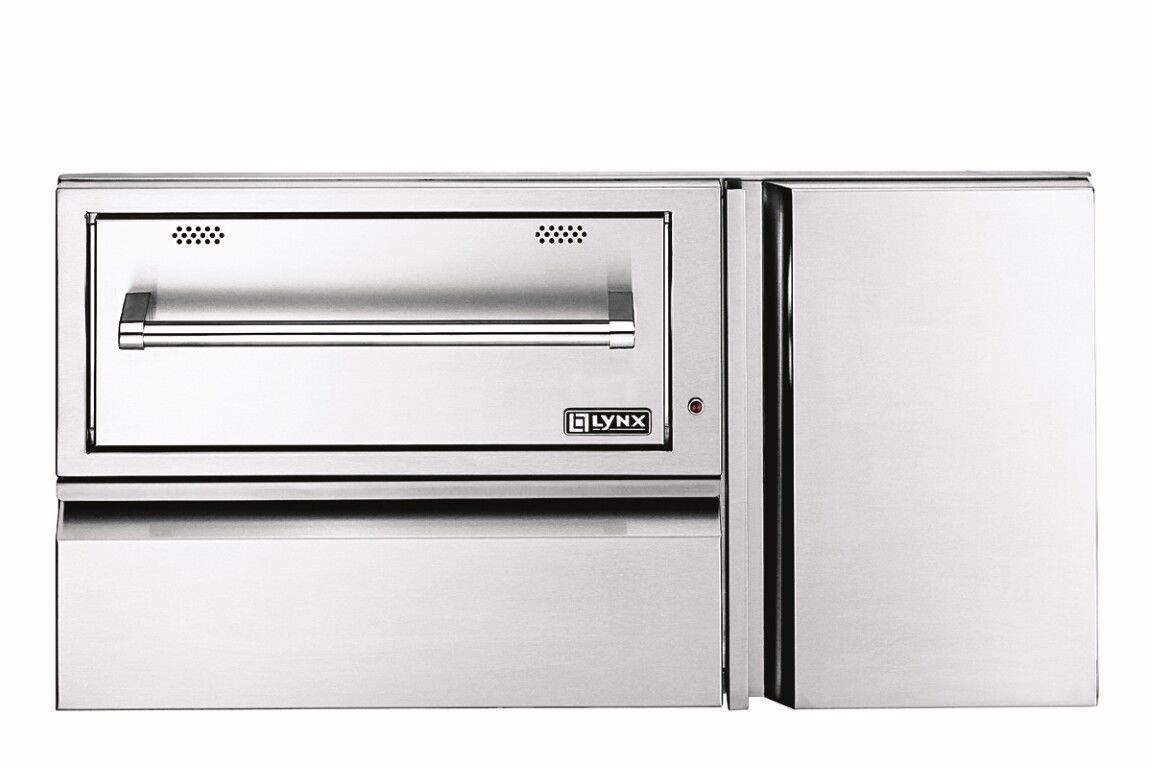 Lynx L42CC-1 Convenience Center with Warming Drawer and Tank Storage, 42-Inch Electrical Distributing Inc (L&G In-network) L42CC1