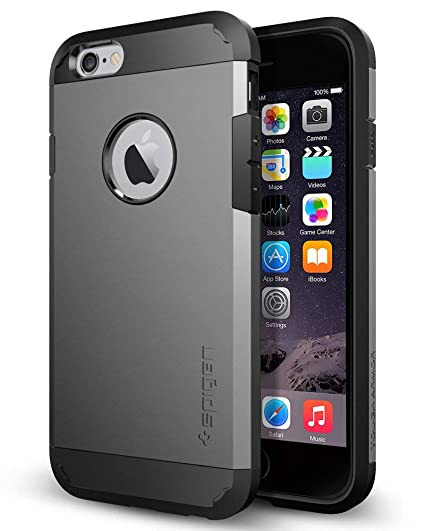 Amazon.com: Spigen - Carcasa rígida para iPhone 6 con ...