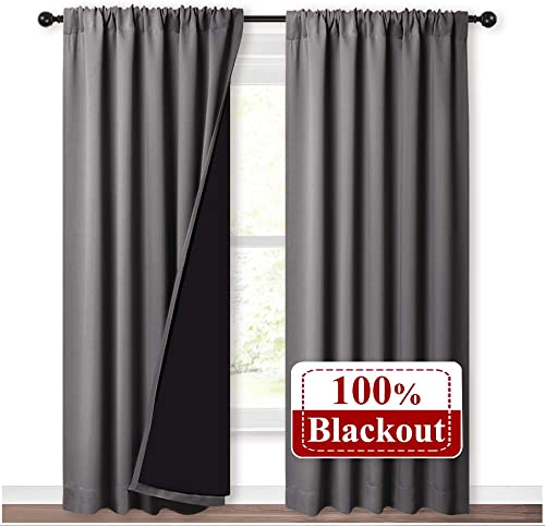 NICETOWN Total Shade Curtains and Draperie