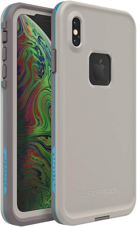 Lifeproof FRE SERIES Waterproof Case for iPhone Xs Max - Retail Packaging - BODY SURF (CEMENT/GARGOYLE/HAWAIIAN OCEAN)