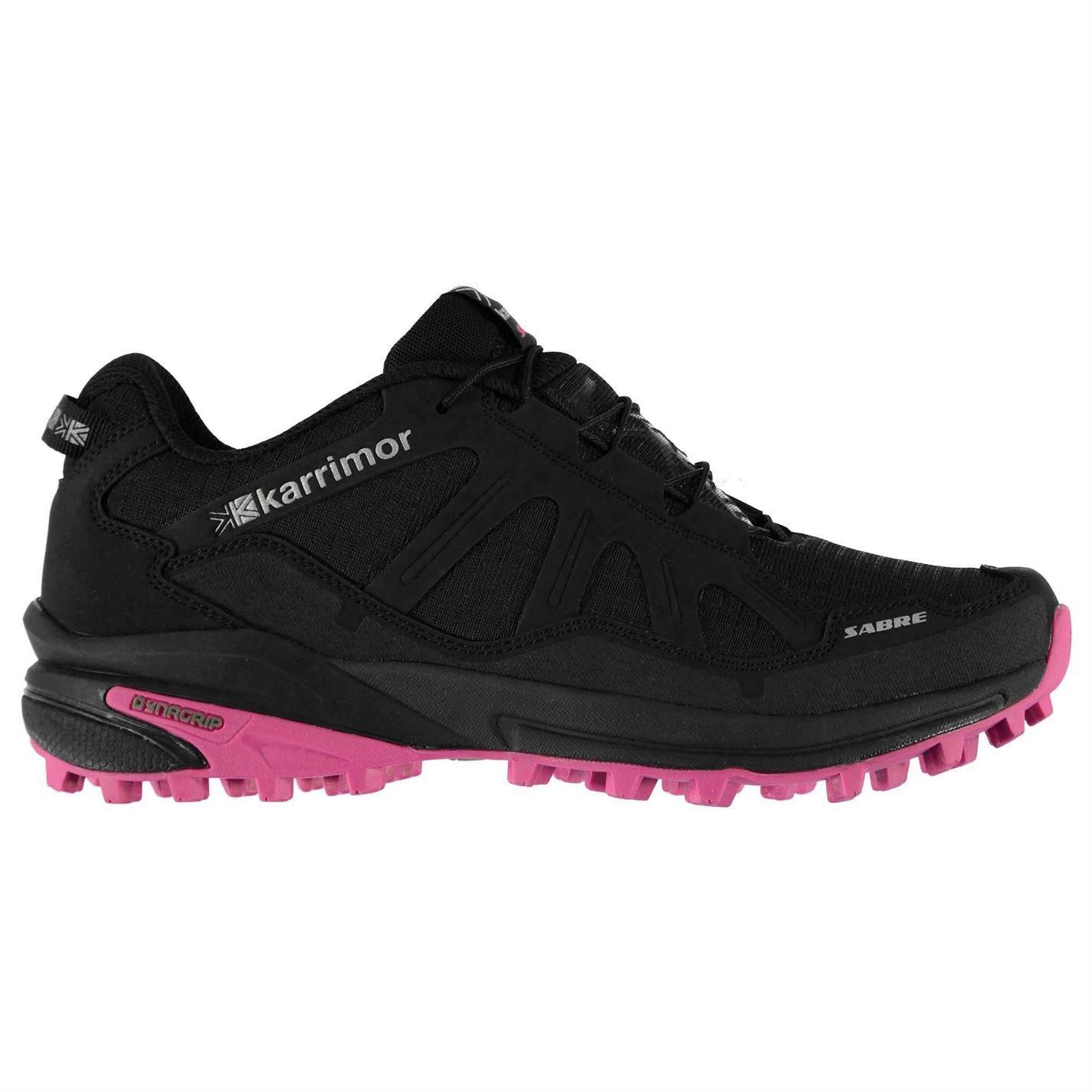Karrimor Damen Schwarz/Pink Sabre Trail Laufschuhe Schwarz/Pink Damen c3140a