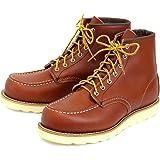 (レッドウィング) RED WING 8875 6inch CLASSIC MOC TOE ブーツ オロ・ラセット(赤茶)