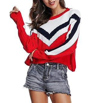 huge discount 319ff 0e9b3 Pullover Strickjacken für Damen Sweatshirts Oberteil Hemd ...
