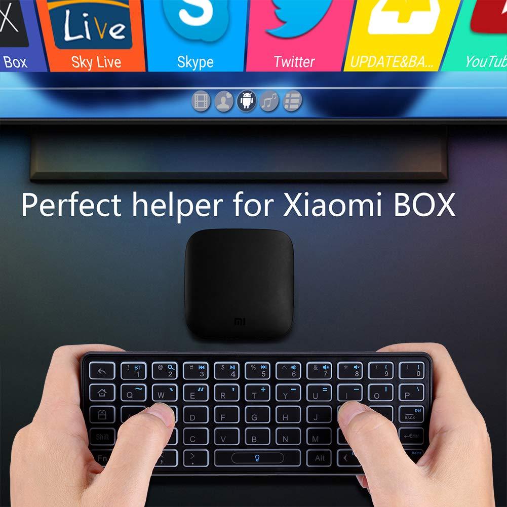 Amazon.com: iPazzPort KP-810-73B - Mini teclado inalámbrico ...