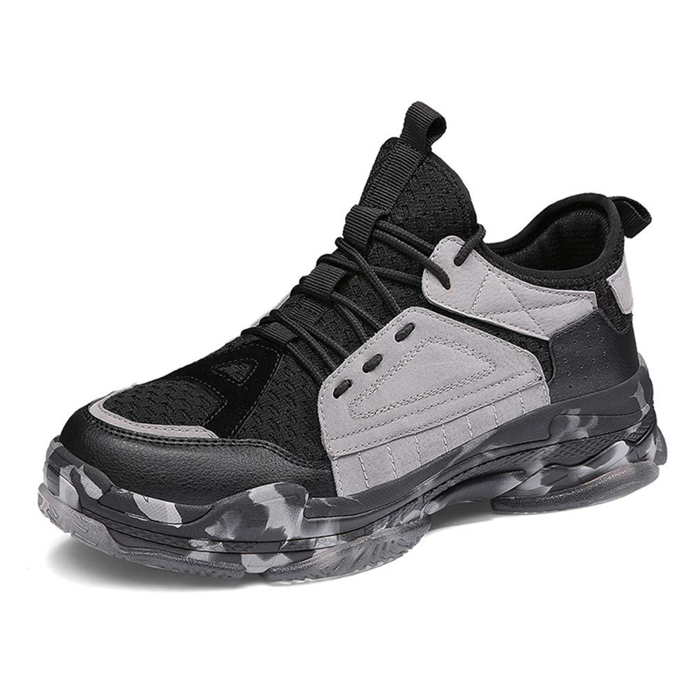 Julitia Big Size Camouflage Sports Shoes Men Autumn and Winter Man Sneakers Shoes Black