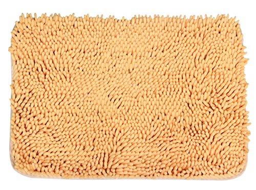 """JustNile Microfiber Soft Bathroom Floor Mat/Shower Rug - 16"""""""