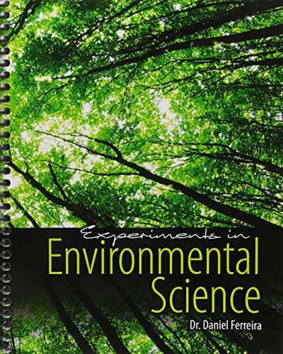 Experiments in Environmental Science