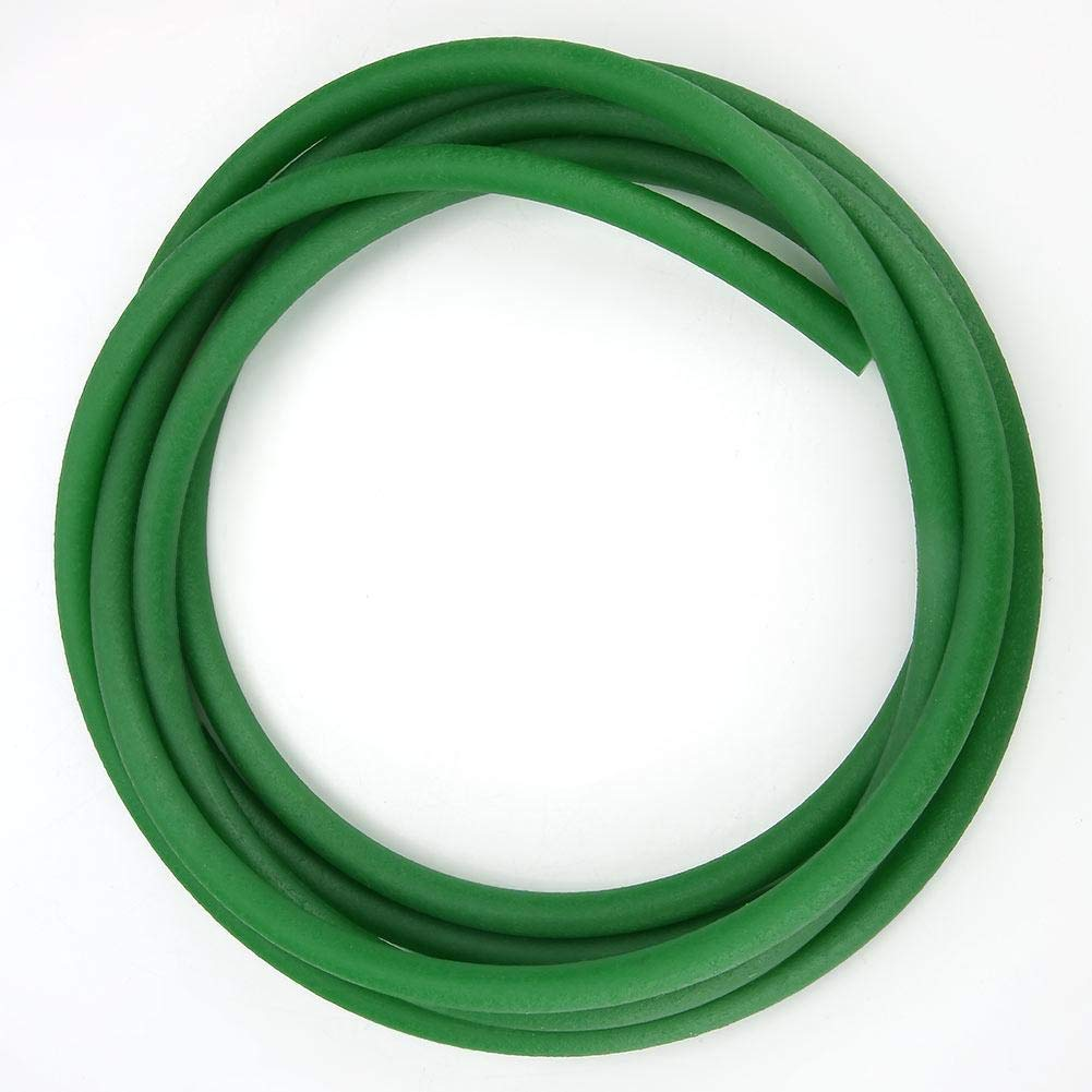 High-Performance Polyurethane Belt Green Rough Surface PU Polyurethane Round Belt for Drive Transmission 2mm 3mm 4mm 5mm 6mm 8mm 10mm 12mm 15mm 8mm/×5m
