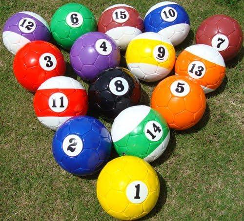 pelotas de Fútbol-Billar en tamaño 3: Amazon.es: Deportes y aire libre