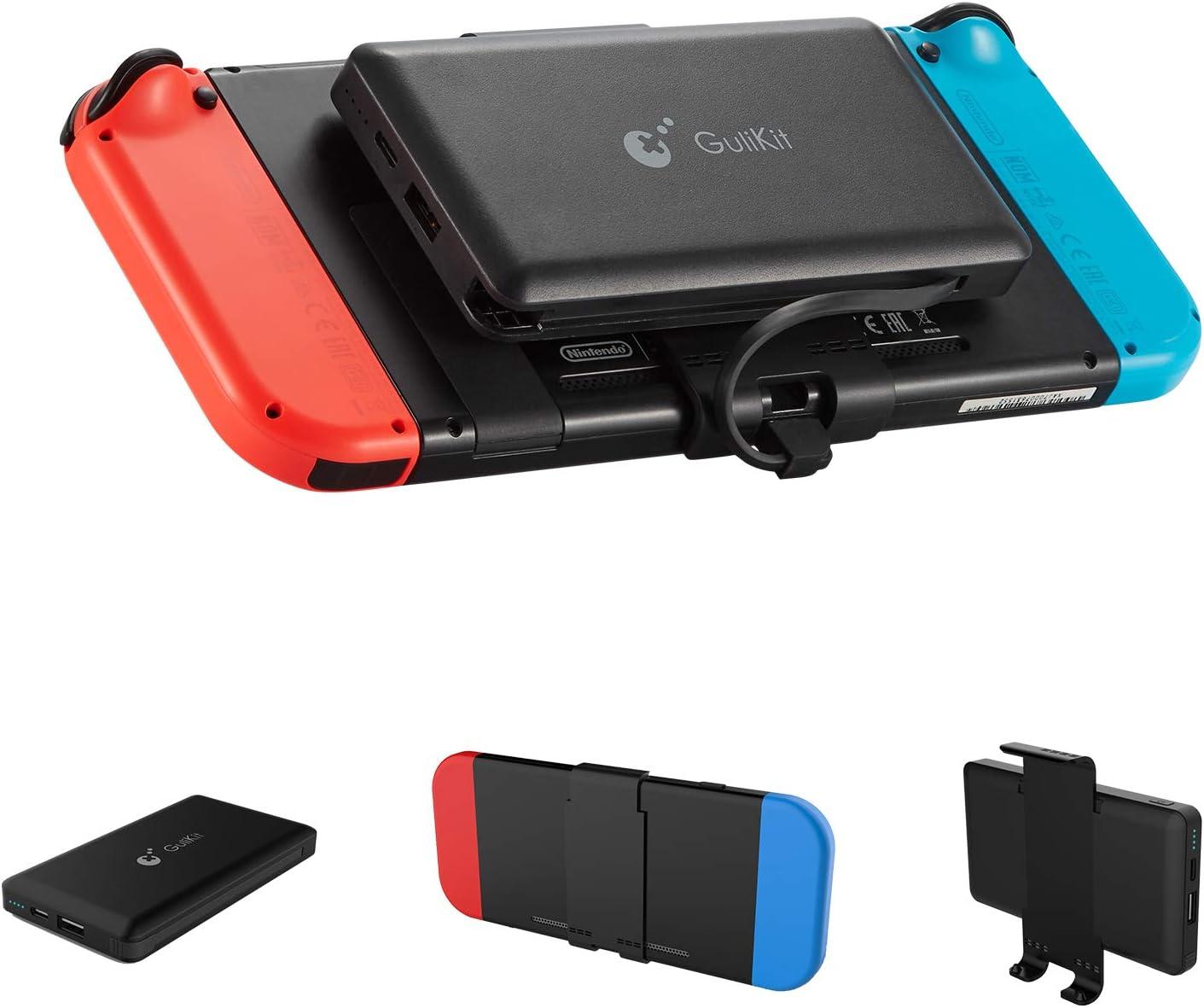 GULIkit Bateria Externa 10000mAh Power Bank para Nintendo Switch ...
