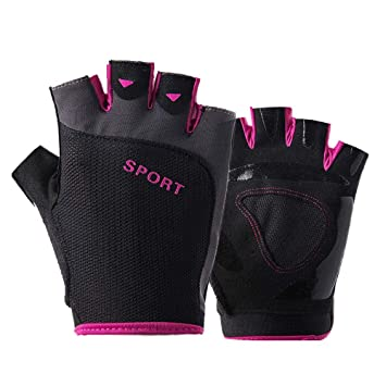 Outdoor Sports Cycling Bike Bicycle Half Finger Fingerless Gloves for Adult//Kid