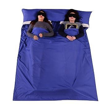 Lzndeal Saco de Dormir Portátil,Saco para Dormir Ideal para el viaje, Campamento,