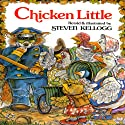 Chicken Little Audiobook by Steven Kellog Narrated by Helen Hunt, Hank Azaria