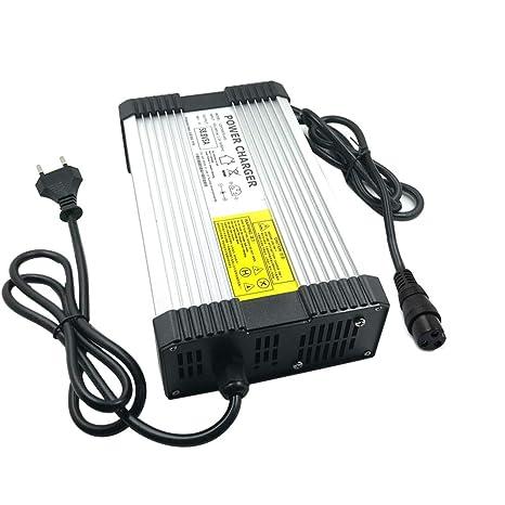 YZPOWER 67.2 V 5 A Litio Li-Ion Li-Poly Cargador de Batería para 16 Serie 60 V 5 A Eléctrico Bicicleta GX16 – 3 Plug