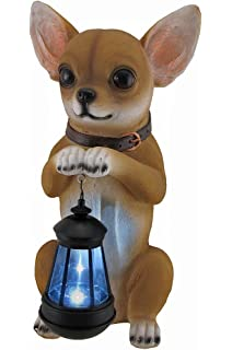 Amazoncom Cool Chillin Chihuahua Dog Welcome Statue Home Kitchen