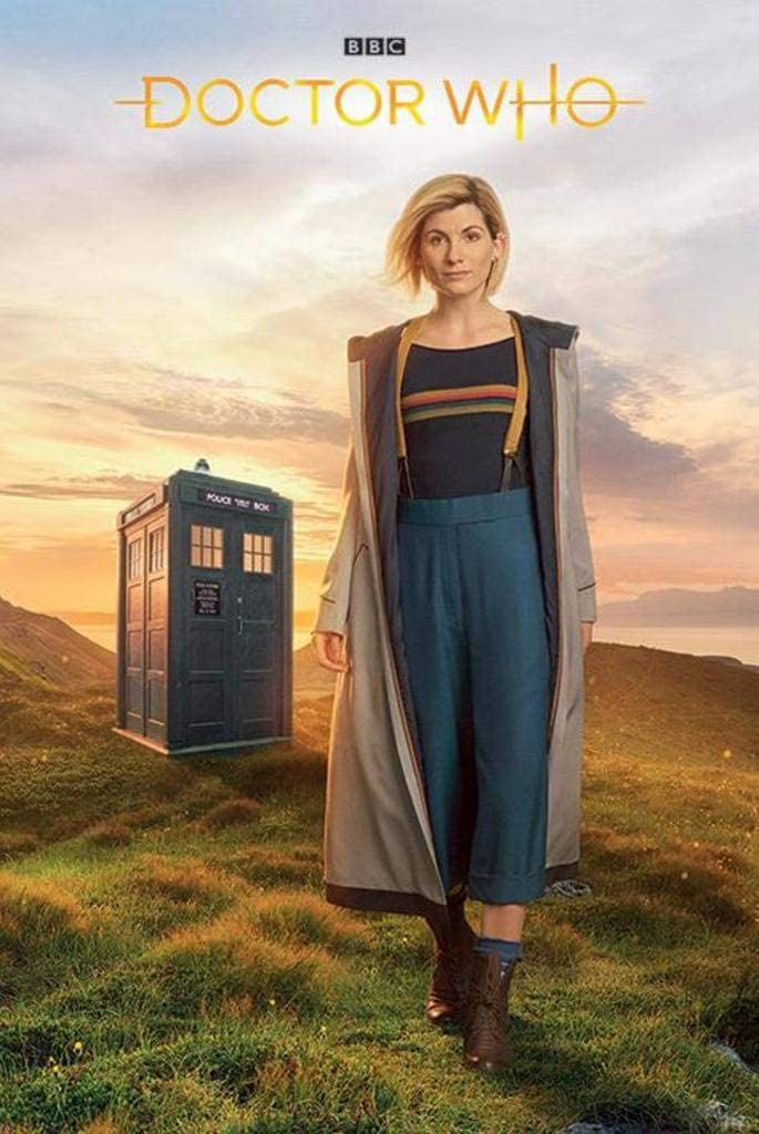 Pyramid International Doctor Who 13th Doctor Tardis Cool Wall Decor Art Print Poster 24x36