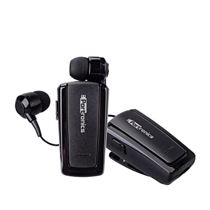d994e825409 Portronics Harmonics 101 Retractable Bluetooth In-Ear: Amazon.in ...