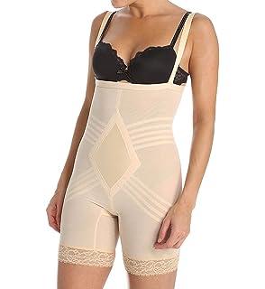 c77d467433 Rago Women s Extra Firm Perky Lift Breast Shaper Bodysuit at Amazon ...