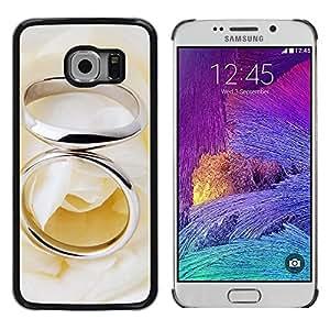 iKiki Tech / Estuche rígido - Couple Ring - Samsung Galaxy S6 EDGE SM-G925