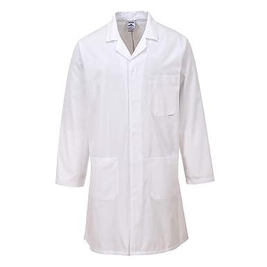 Portwest estándar ropa de trabajo de bata de laboratorio médico (salud): Amazon.es: Ropa y accesorios