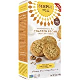 Simple Mills - Ready-to-Eat Crunchy Cookies - Toasted Pecan - 4.25 oz, Gluten Free, Grain Free, Paleo (1 Pack)