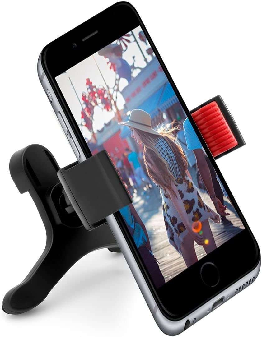 Affordable Universal Air Vent Phone Holder Car Mount for Cell Phones, Smartphones, Android, GPS, Galaxy, iPhone 360 Degree Rotation